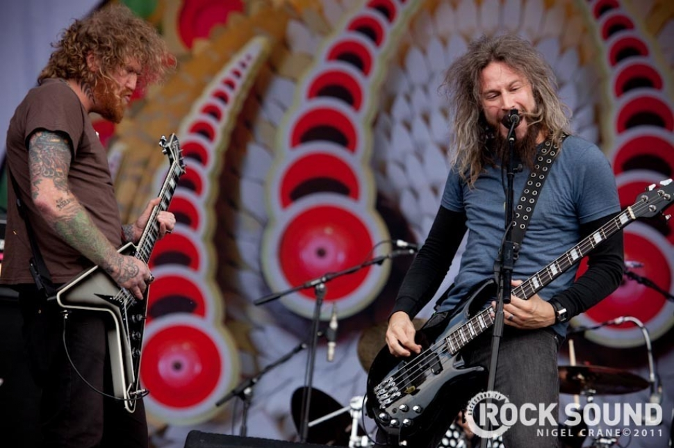 Six Photos Of Mastodon Bringing The Riffs To Sonisphere 2011