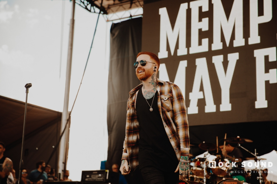 Memphis May Fire, Warped Tour, Atlantic City, June 30 // Photo: Maggie Friedman