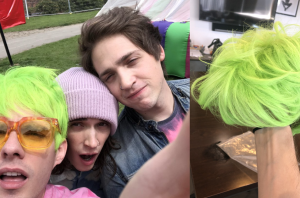 Waterparks Are Selling Green Wigs As Merch, So You Can Look Just Like Awsten