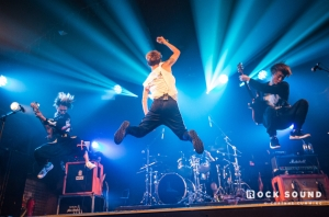 This Is What ONE OK ROCK's Rock Sound-Sponsored London Show Looked Like