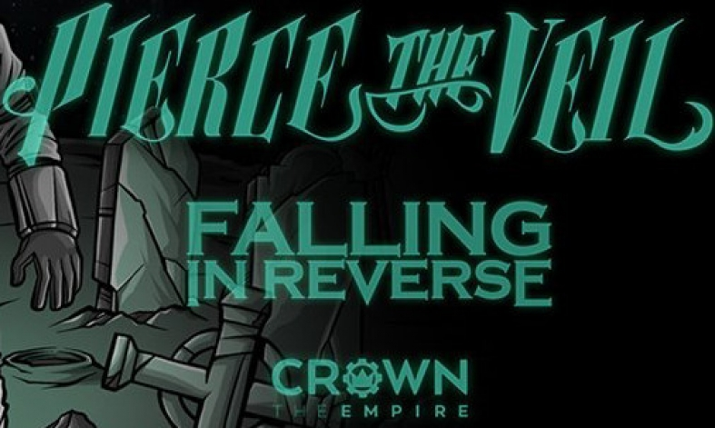 Pierce The Veil, Falling In Reverse + Crown The Empire Are