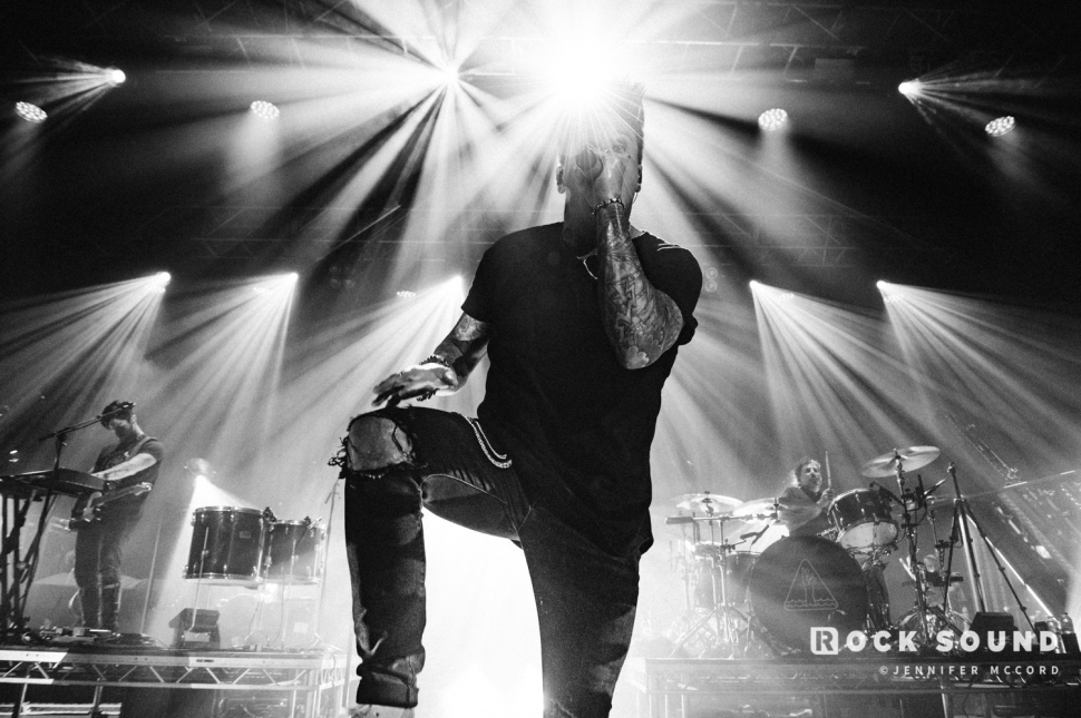 Papa Roach, Kentish Town, London, April 17 // Photo: Jenny McCord