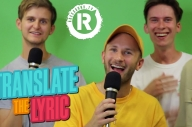 Watch ROAM Play A Game Of 'Translate The Lyric'
