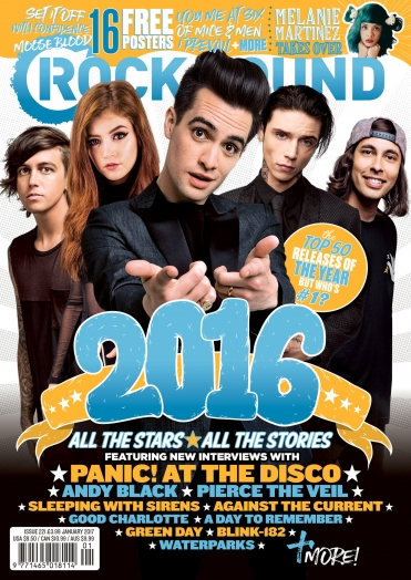 Rocksound - Issue 221 - January 2017