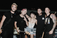 Watch Halsey Join All Time Low On Stage Last Night For 'Remembering Sunday'