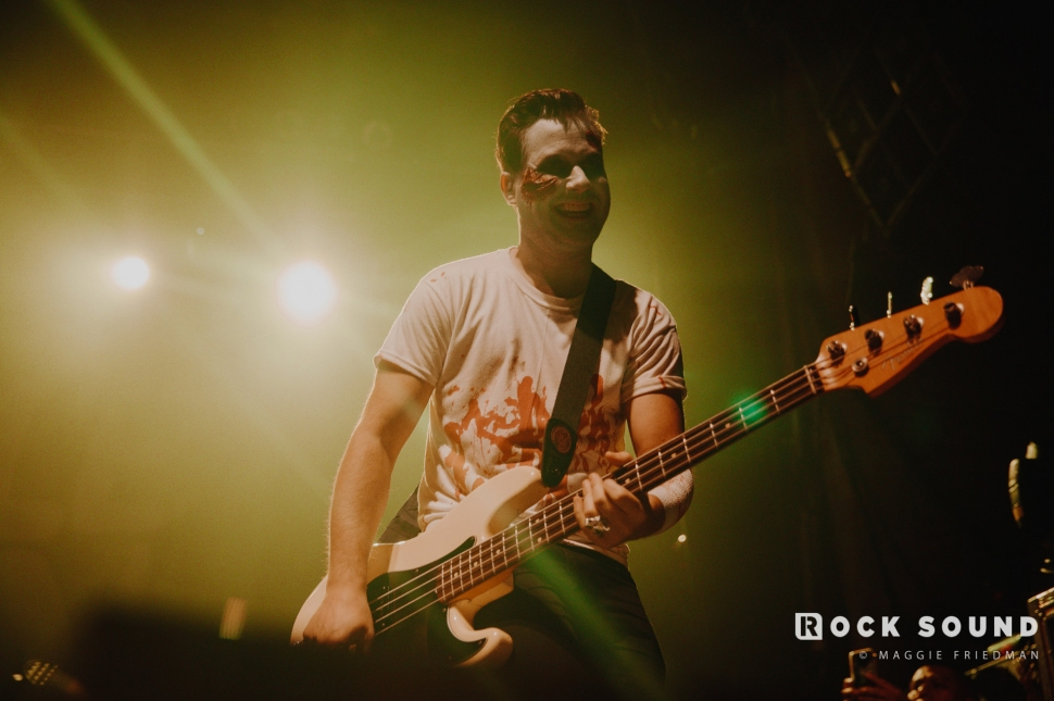 Simple Plan, The Paramount, New York, October 31 // Photo: Maggie Friedman