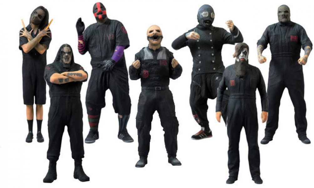 These Slipknot Figures Are So Cool News Rock Sound