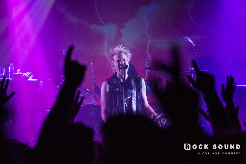 Sum 41, The Dome, London, January 17 // Photo: Corinne Cumming