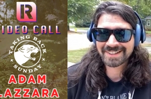 Taking Back Sunday's Adam Lazzara On 'An Evening With…' Livestream Show - Video Call