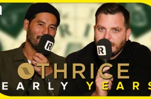 Thrice On First Shows & Musical Heroes - Early Years
