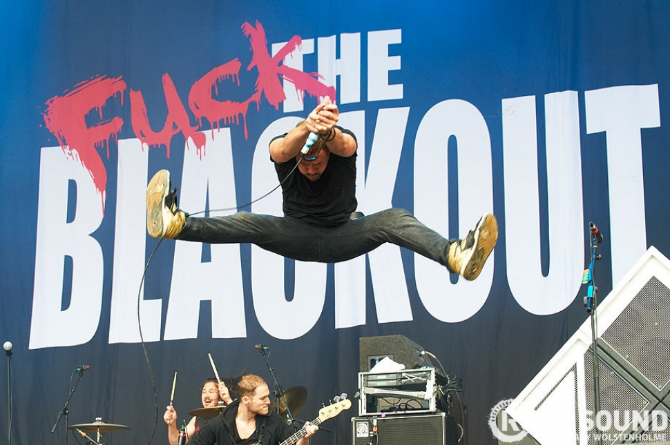 Reading And Leeds Festival 2011: The Blackout