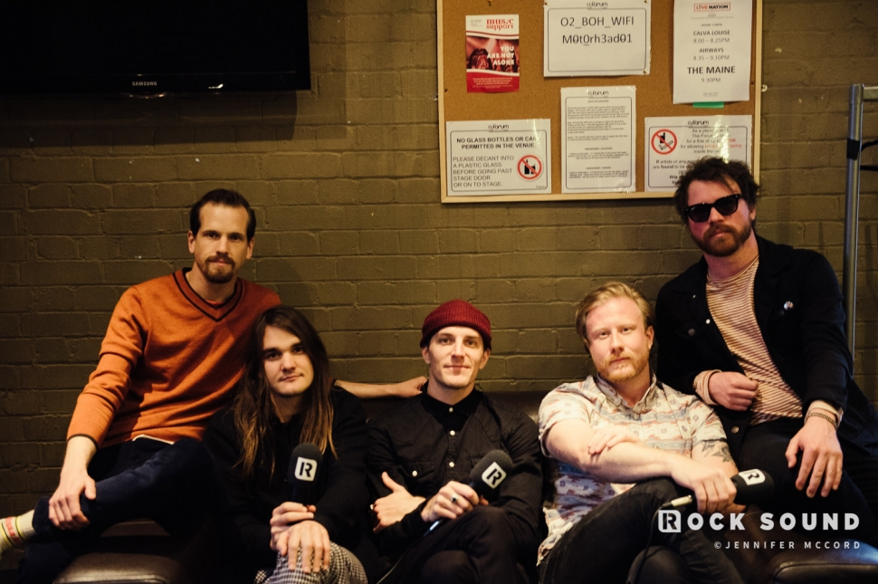 The Maine, Kentish Town Forum, London, April 6 // Photo: Jennifer McCord