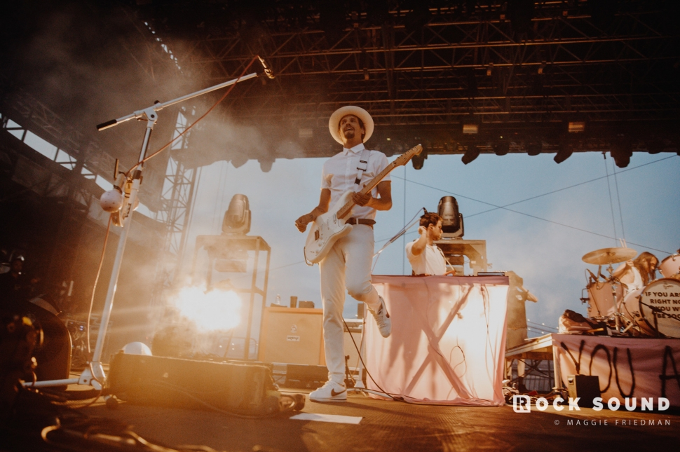 The Maine, Sad Summer Festival, July 16 // Photo: Maggie Friedman