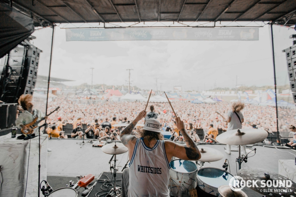 The Used, Warped Tour 2018 // Photo: Ellie Mitchell