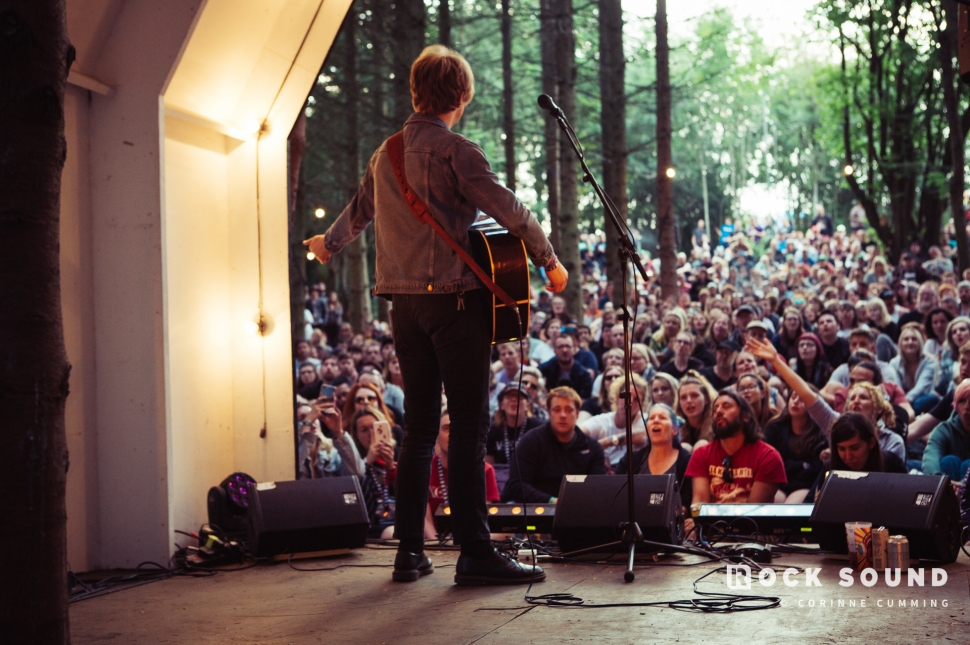 Murray McLeod (The Xcerts), 2000 Trees Festival, July 13 // Photo: Corinne Cumming