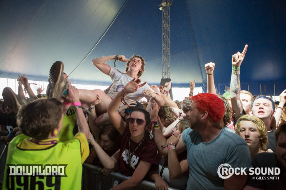 The Amity Affliction, Download Festival 2014