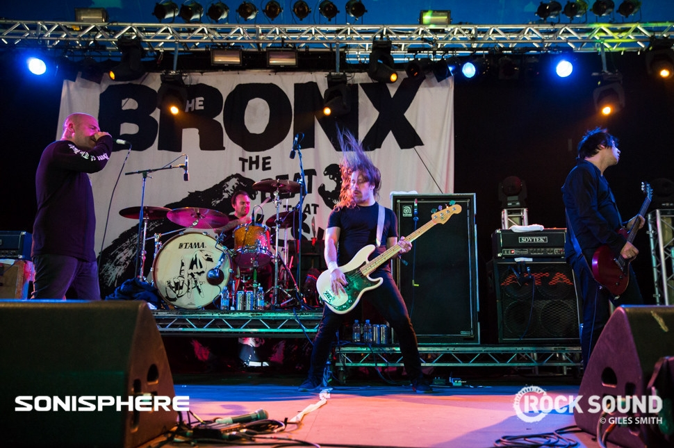 The Bronx At Sonisphere 2014. All photos by Giles Smith.