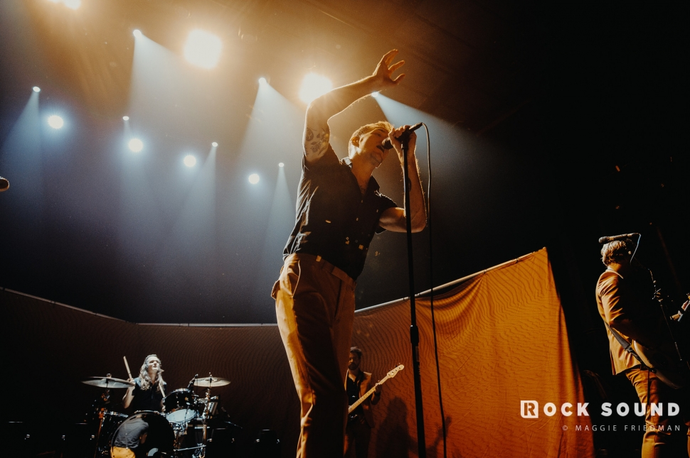 The Maine, 'You Are OK' Album Release Show, New York, March 29 // Photo: Maggie Friedman