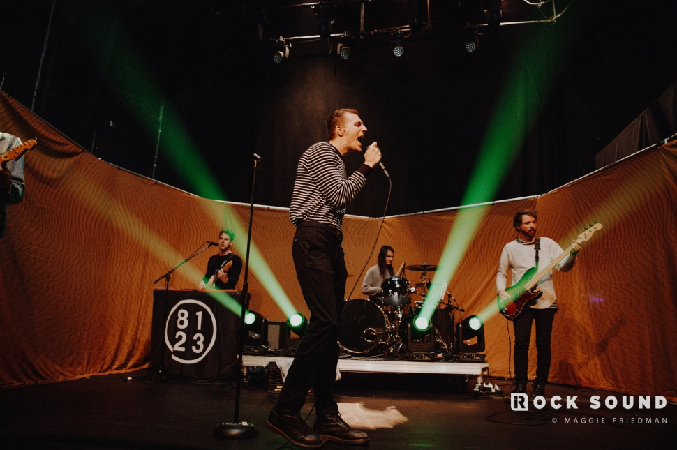 The Maine, 'You Are OK' Album Release Show Soundcheck, New York, March 29 // Photo: Maggie Friedman