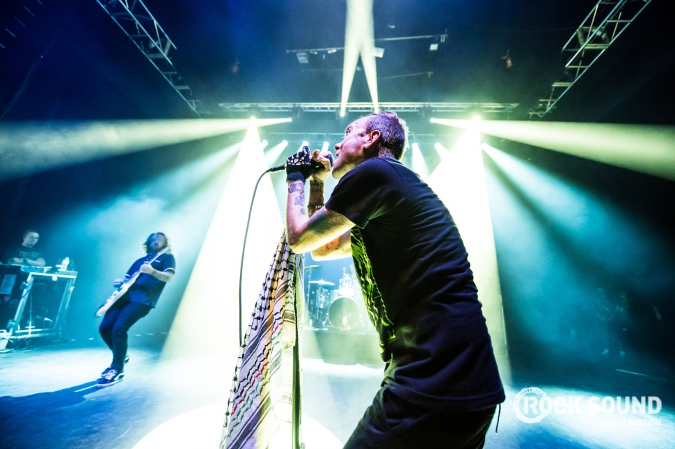 The Used, Shepherd's Bush Empire, August 31 // Photo: Ben Gibson