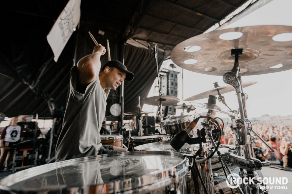 Tonight Alive, Warped Tour 2018 // Photo: Ellie Mitchell