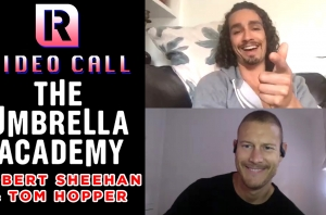 The Umbrella Academy's Robert Sheehan & Tom Hopper On Working With Gerard Way - Video Call