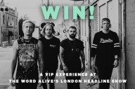 WIN A VIP Experience At The Word Alive's London Headline Show