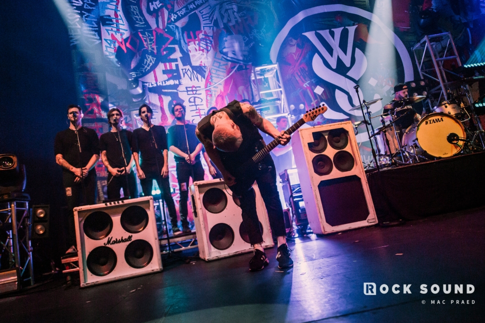 While She Sleeps, The Roundhouse, March 01 // Photo: Mac Praed