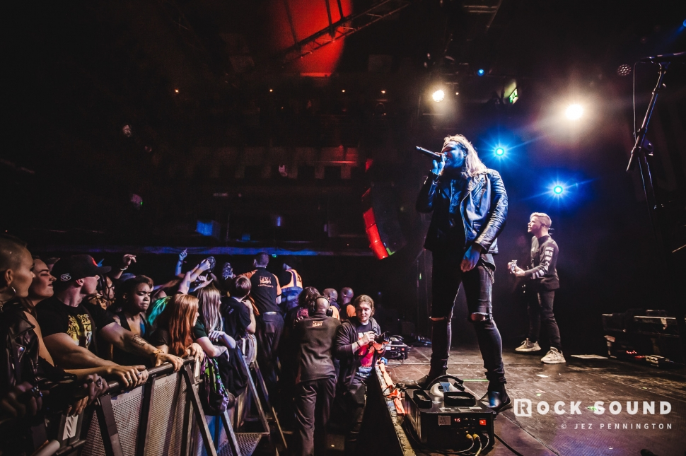 Wage War, Islington Academy, London, January 17 // Photo: Jez Pennington