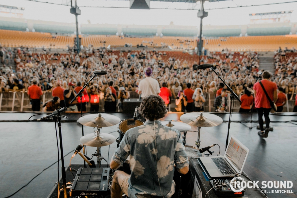 Waterparks, Warped Tour 2018 // Photo: Ellie Mitchell