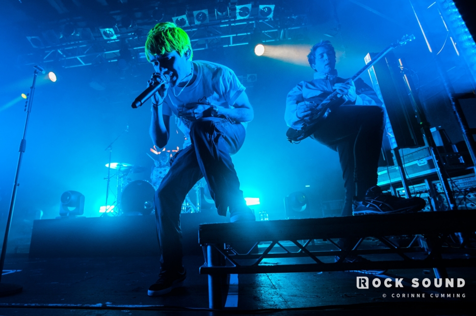 Waterparks, Electric Ballroom, London, February 02 // Photo: Corinne Cumming