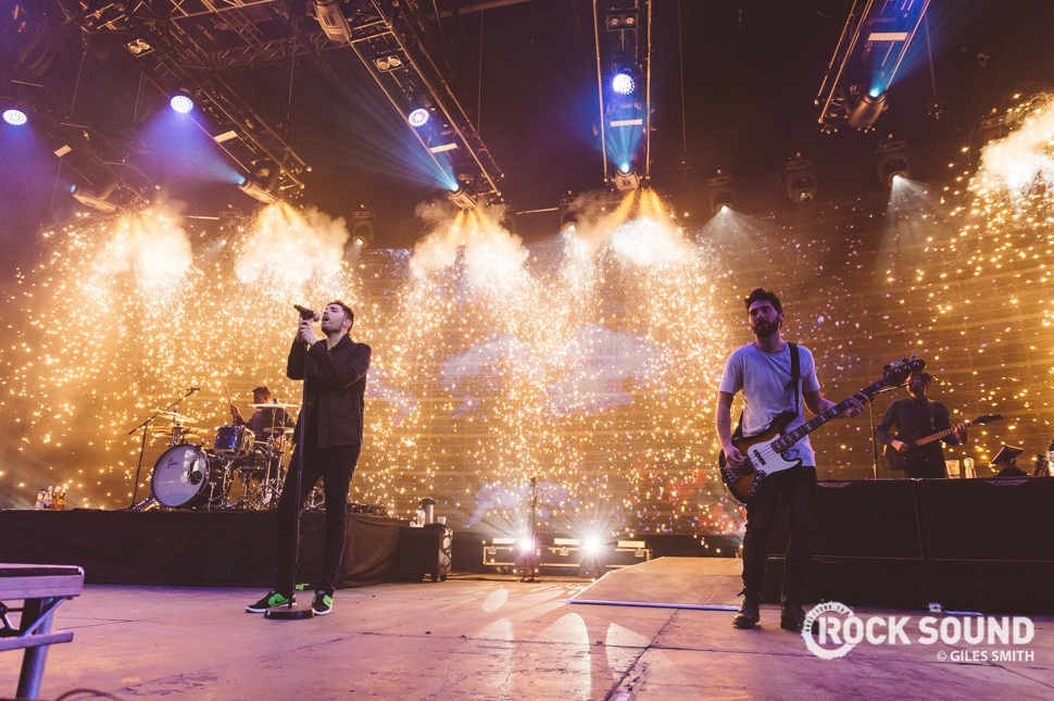 You Me At Six, Cardiff, February 09 // Photo credit: Giles Smith