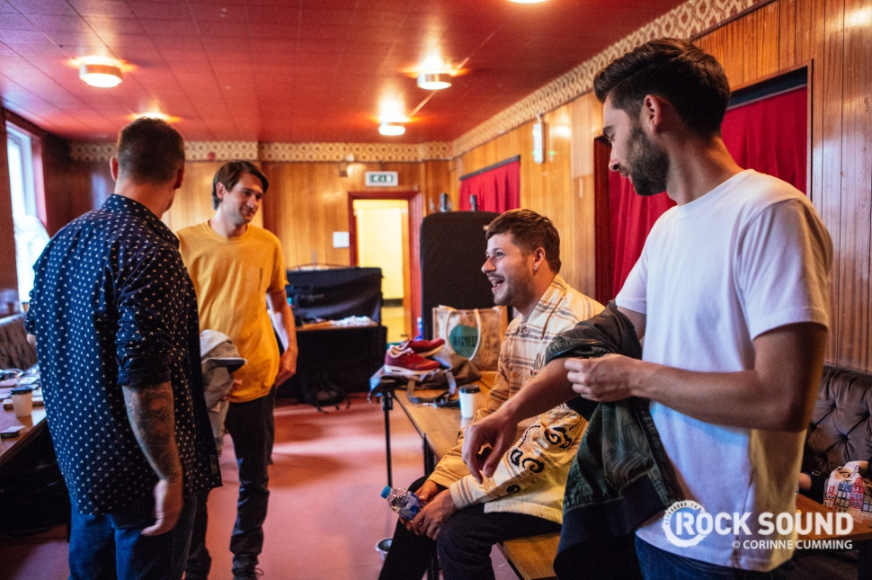 You Me At Six, '3AM' Video Shoot // Photo credit: Corinne Cumming