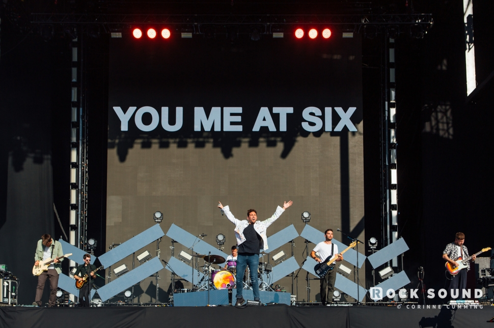 You Me At Six, Reading Festival, August 23 // Photo: Corinne Cumming