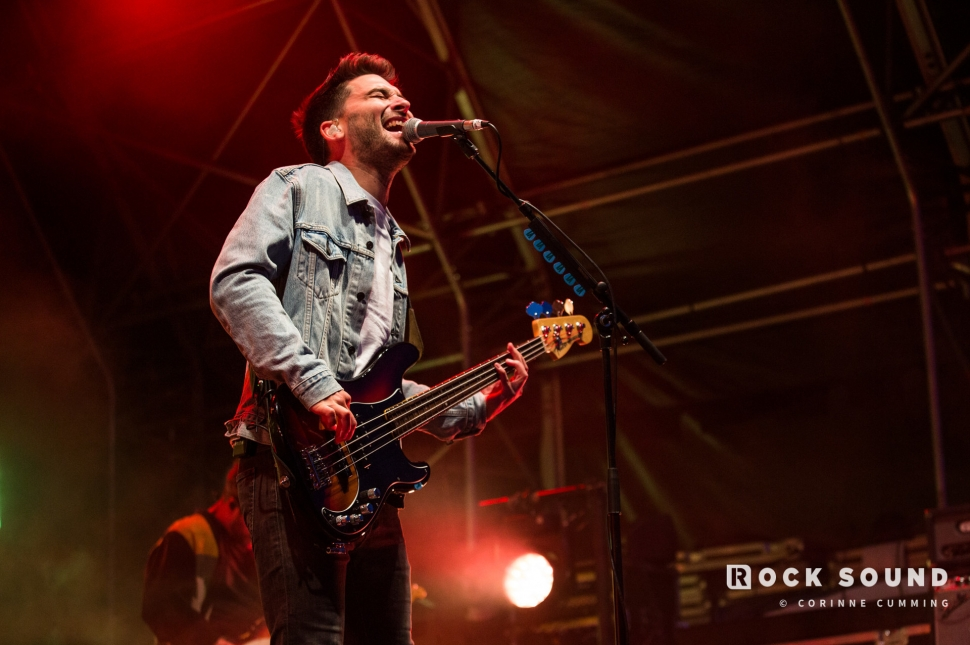 You Me At Six, 2000 Trees Festival, July 12 // Photo: Corinne Cumming