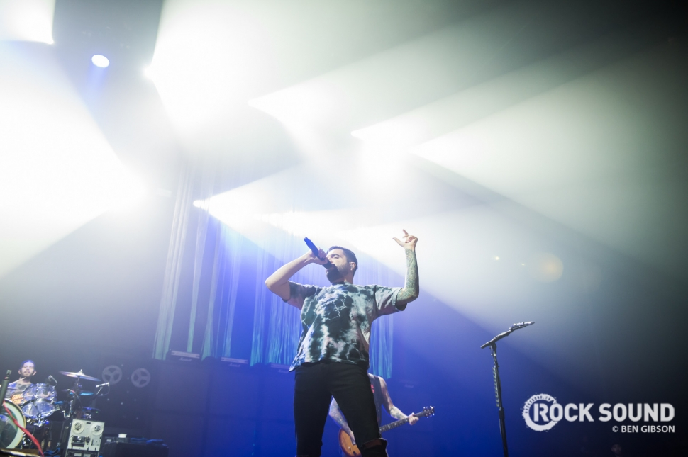 A Day To Remember, London Wembley Arena, January 27 // Photo: Ben Gibson