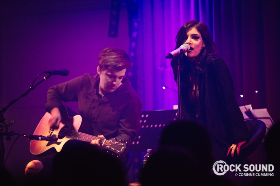 Against The Current, London Bush Hall, March 17 // Photo: Corinne Cumming