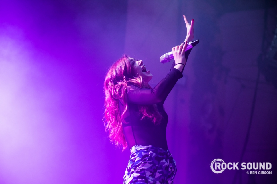 Against The Current, London Brixton Academy, December 03 // Photo: Ben Gibson