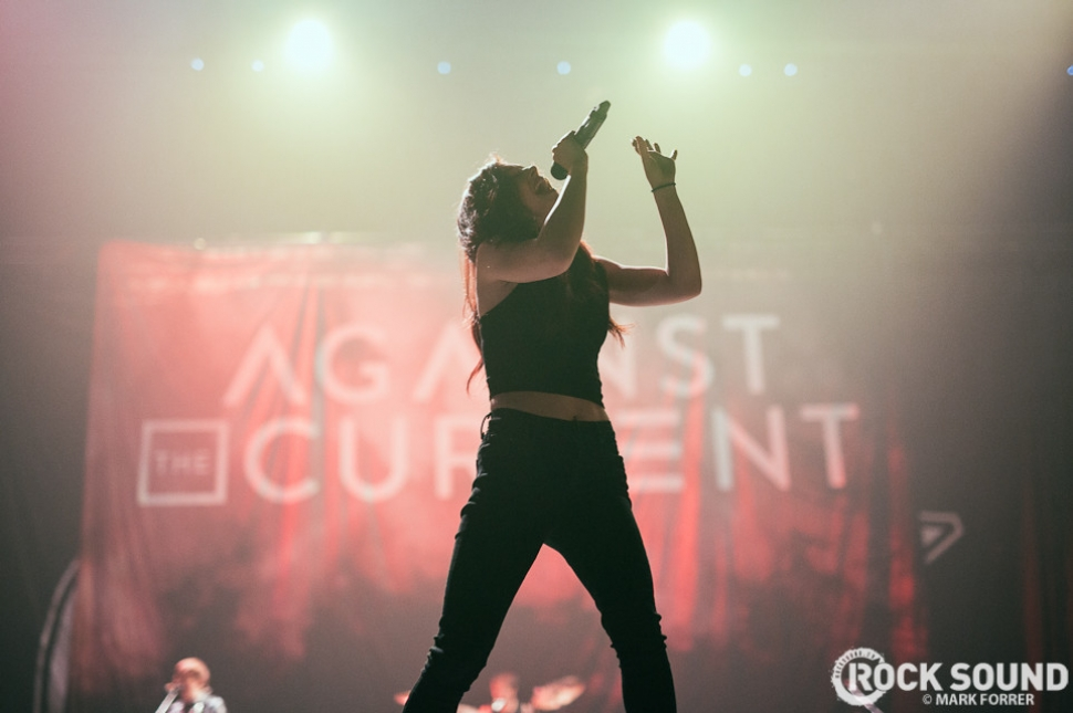 Against The Current, Manchester Arena, February 12 // Photo credit: Mark Forrer