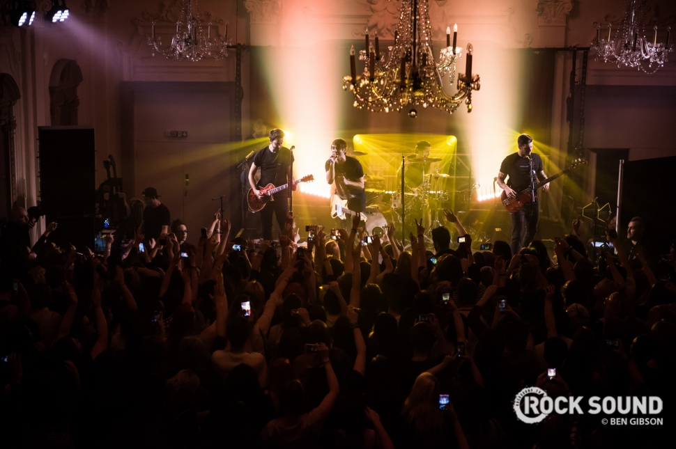 All Time Low, London Bush Hall, March 09 // Photo: Ben Gibson
