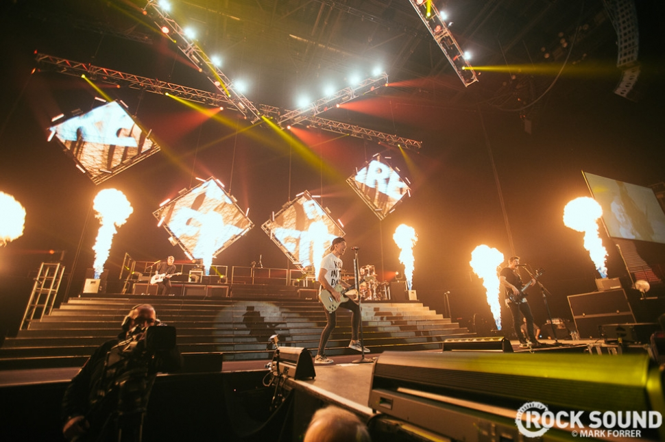 All Time Low, Manchester Arena, February 12 // Photo credit: Mark Forrer