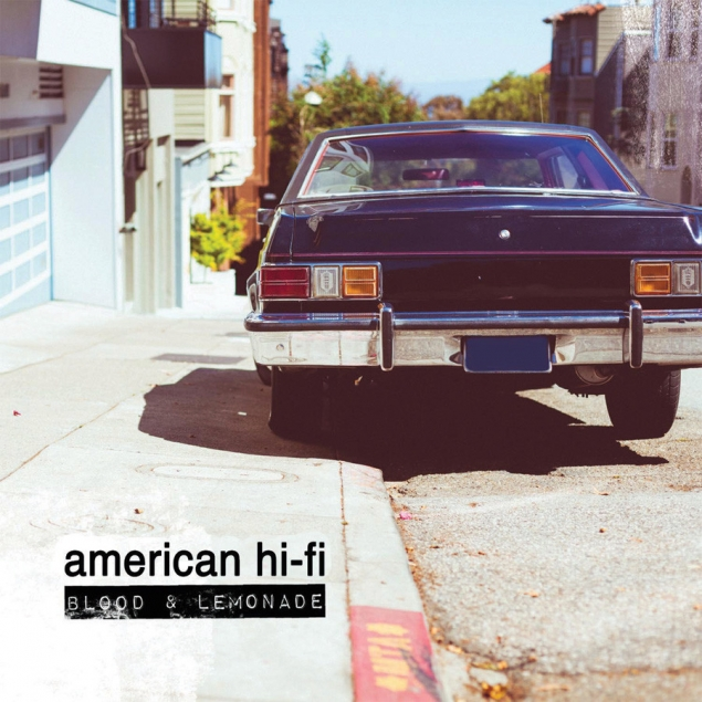 American Hi-Fi - Blood & Lemonade Cover