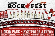 Canada's Amnesia Rockfest Have Pulled Out The Festival Line-Up Of The Decade