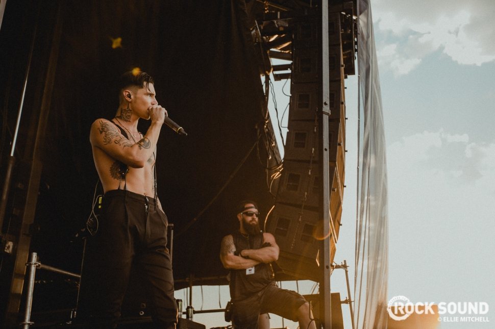 Andy Black, Vans Warped Tour 2017 // Photo: Ellie Mitchell