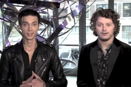Watch Andy Biersack + Ben Bruce Deal Out All Of The Banter For A 'Hot Minute'