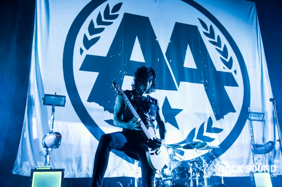 Asking Alexandria, London Brixton Academy, April 08 // Photo: Ben Gibson