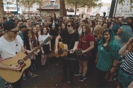 Watch Against The Current Play The Ultimate DIY Show On The Street