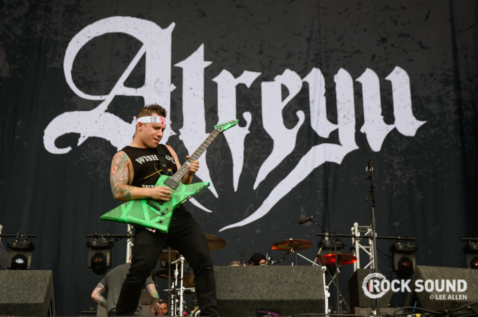 Atreyu, Download Festival, June 11 2016 // Photo credit: Lee Allen
