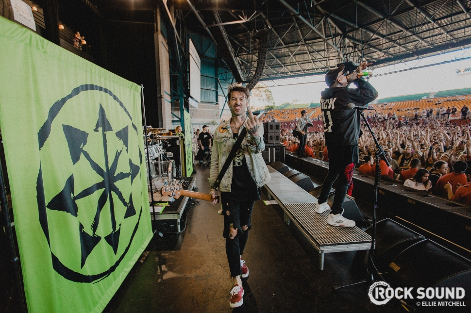 Attila, Vans Warped Tour 2017 // Photo: Ellie Mitchell