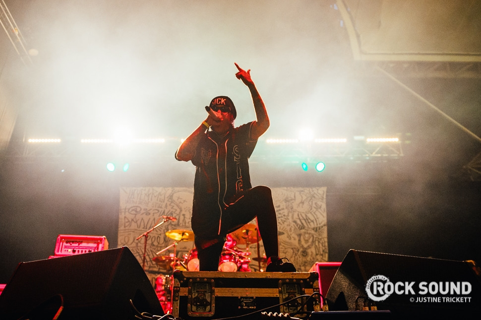 Attila, Vans Warped Tour UK, October 18 // Photo credit: Justine Trickett